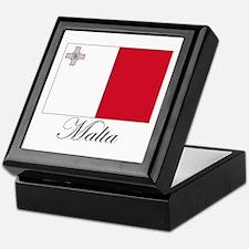 Malta - Flag Keepsake Box