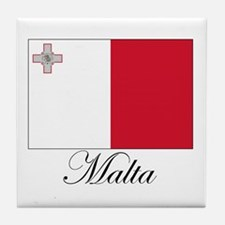 Malta - Flag Tile Coaster