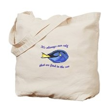 WE FIND OUR SELF Tote Bag