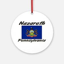 Nazareth Pennsylvania Ornament (Round)
