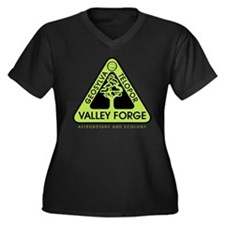 Valley Forge Spaceship Crest Plus Size T-Shirt