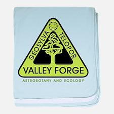 Valley Forge Spaceship Crest baby blanket