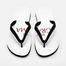 BETTER CALL Grandma-Opt red2 550 Flip Flops