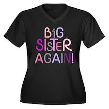 Big Sister Again Plus Size T-Shirt