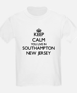 Keep calm you live in Southampton New Jers T-Shirt