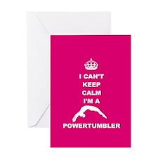 Powertumbling Greeting Cards