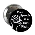Free Speech is a Right Button