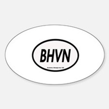 BHVN Oval Decal