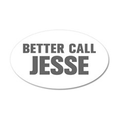 BETTER CALL JESSE-Akz gray 500 Wall Decal