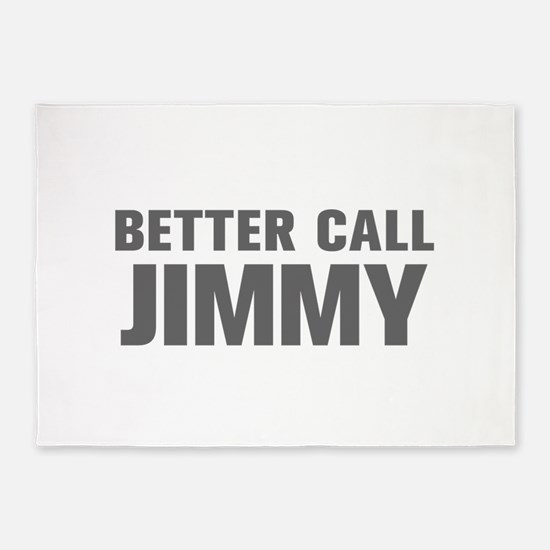 BETTER CALL JIMMY-Akz gray 500 5'x7'Area Rug
