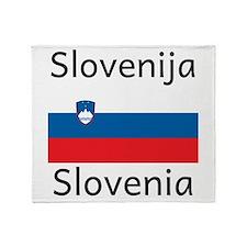 Slovenia Throw Blanket