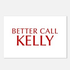 BETTER CALL KELLY-Opt red2 550 Postcards (Package