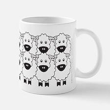 Kelpie and Sheep Small Small Mug