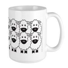 Kelpie and Sheep Mug