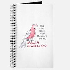 I LIKE MY GALAH COCKATOO Journal