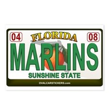 Florida Plate - MARLINS Postcards (Package of 8)
