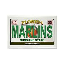 Florida Plate - MARLINS Rectangle Magnet