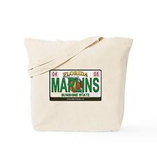 Florida Plate - MARLINS Tote Bag