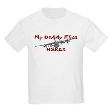 Daddy Flies Hercs T-Shirt