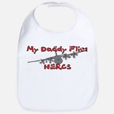 Daddy Flies Hercs Bib