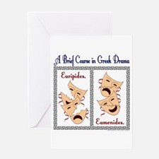 Euripides/Eumenides Greeting Card