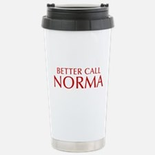 BETTER CALL NORMA-Opt red2 550 Travel Mug