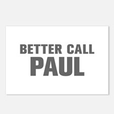 BETTER CALL PAUL-Akz gray 500 Postcards (Package o