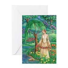 Lady of Lake Greeting Card