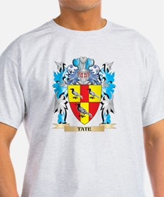 Tate Coat of Arms - Family Crest T-Shirt