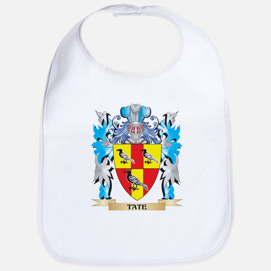 Tate Coat of Arms - Family Crest Bib