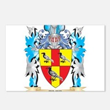 Tate Coat of Arms - Famil Postcards (Package of 8)