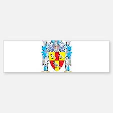 Tate Coat of Arms - Family Crest Bumper Bumper Bumper Sticker