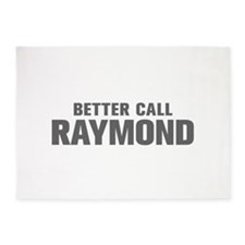 BETTER CALL RAYMOND-Akz gray 500 5'x7'Area Rug