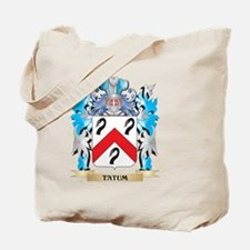 Tatum Coat of Arms - Family Crest Tote Bag