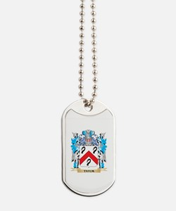 Tatum Coat of Arms - Family Crest Dog Tags
