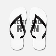 BETTER CALL RYAN-Akz gray 500 Flip Flops