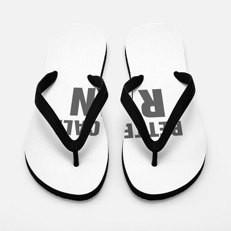 BETTER CALL RYAN-Akz gray 500 Flip Flops