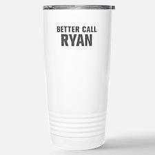 BETTER CALL RYAN-Akz gray 500 Travel Mug
