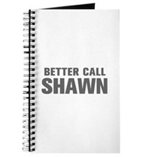BETTER CALL SHAWN-Akz gray 500 Journal