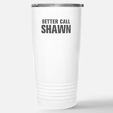 BETTER CALL SHAWN-Akz gray 500 Travel Mug
