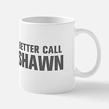 BETTER CALL SHAWN-Akz gray 500 Mugs