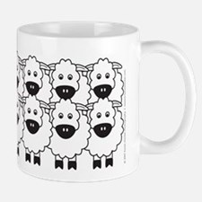 Red Kelpie and Sheep Mug