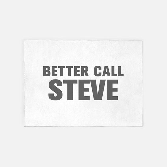 BETTER CALL STEVE-Akz gray 500 5'x7'Area Rug