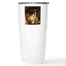 Damsel and Pug Travel Mug
