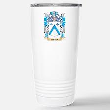 Teeven Coat of Arms - F Travel Mug