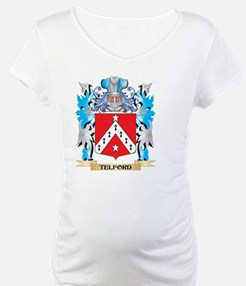 Telford Coat of Arms - Family Cr Shirt