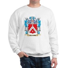 Telford Coat of Arms - Family Crest Sweatshirt
