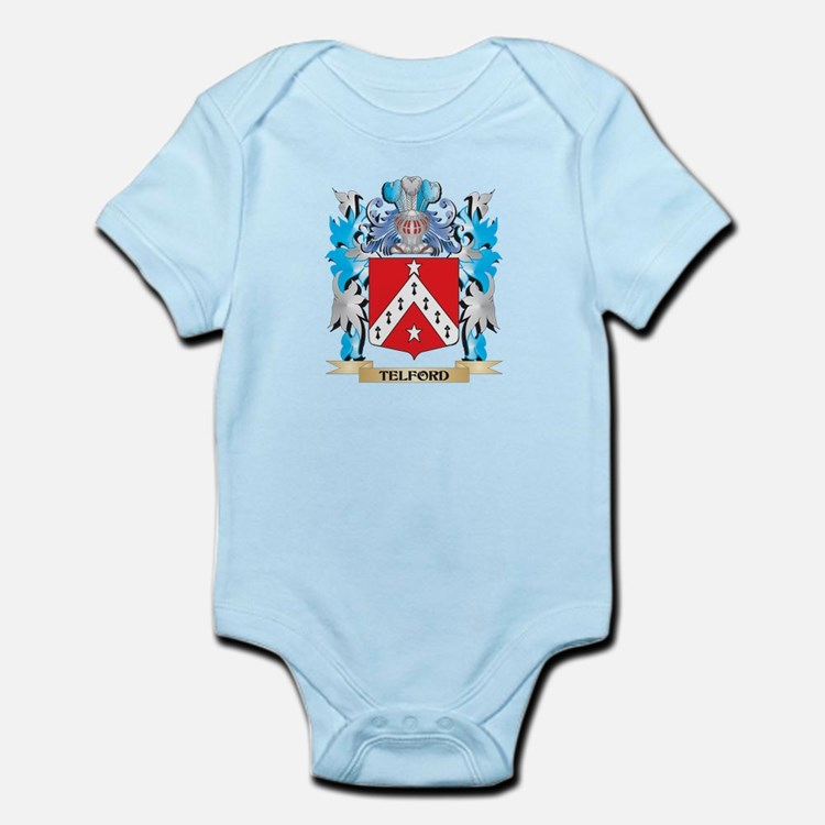 Telford Coat of Arms - Family Crest Body Suit