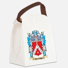 Telford Coat of Arms - Family Cre Canvas Lunch Bag