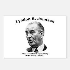 LBJ: Talking Postcards (Package of 8)